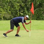 Kumar MP Retrieves His Hole In One