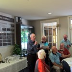 Michael Whiteway Addresses the Clubroom