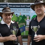 Adam Scott Trophy Runner Up Kevin Naughton & John Filmalter