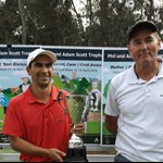 Adam Scott Trophy Winners Claudio SEQUEIRA and Barry SMITH