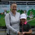 Phil and Adam Scott Trophy Mother / Daughter Winners Sandra KUCHEL and Charlotte SARSON